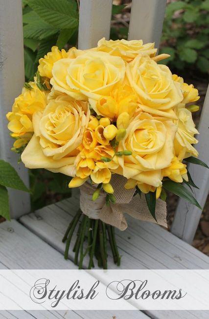 Fiori Gialli Bouquet.Bouquet Con Fiori Gialli Organizzazione Matrimonio Forum