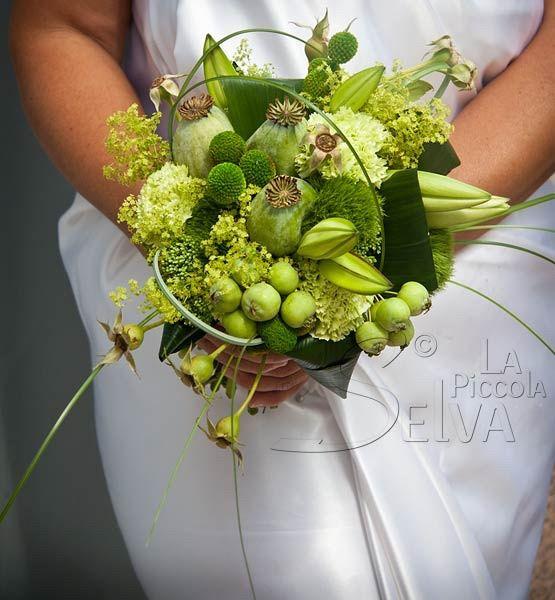Bouquet fiori verdi