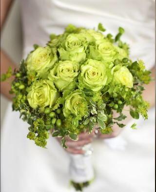 Bouquet fiori verdi organizzazione matrimonio forum for Fiori verdi