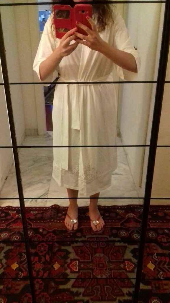 Vestaglia sposa - 1