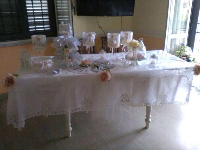 Tavolo casa sposa prima delle nozze forum - Tavolo matrimonio casa sposa ...