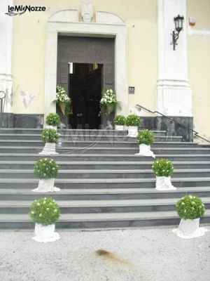 Addobbi esterno chiesa - 3
