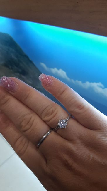 E ora mostraci una foto del tuo anello di fidanzamento! 12
