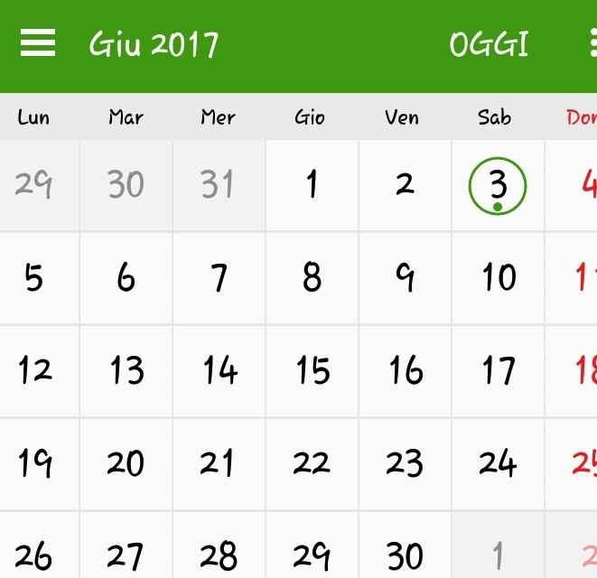 Sposine 2017, i nostri calendari - 1