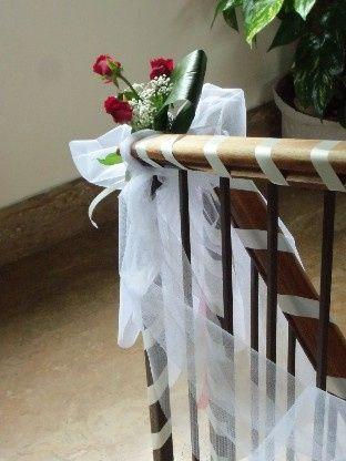 Amato Addobbi fuori e dentro casa sposa - Organizzazione matrimonio  VO64