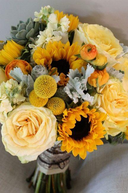 Girasoli Matrimonio Ottobre : Bouquet girasoli consigli forum matrimonio