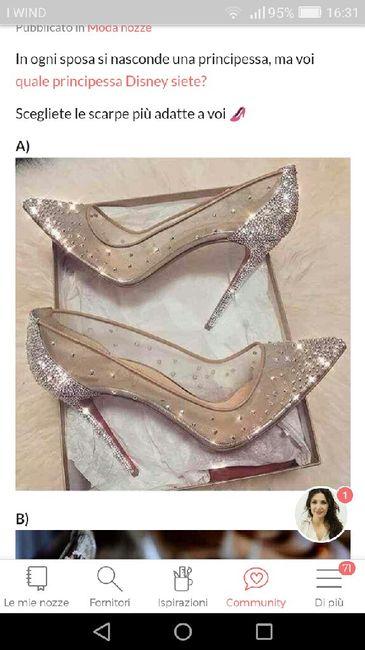 Sapete dove trovare queste scarpe? - 1