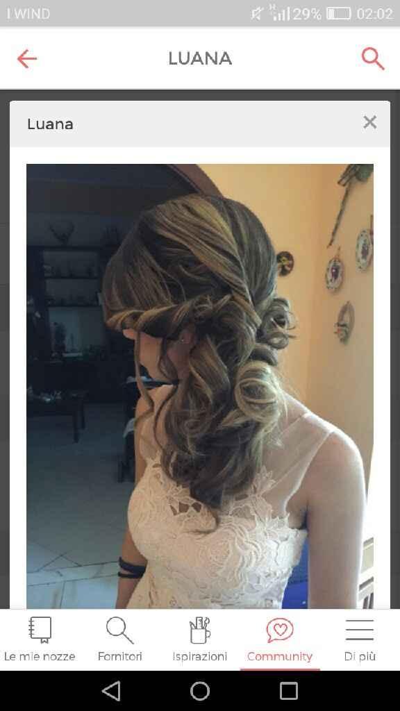 Idee per capelli raccolti di lato - 1