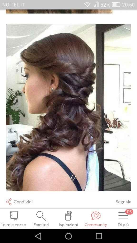 Idee per capelli raccolti di lato - 5
