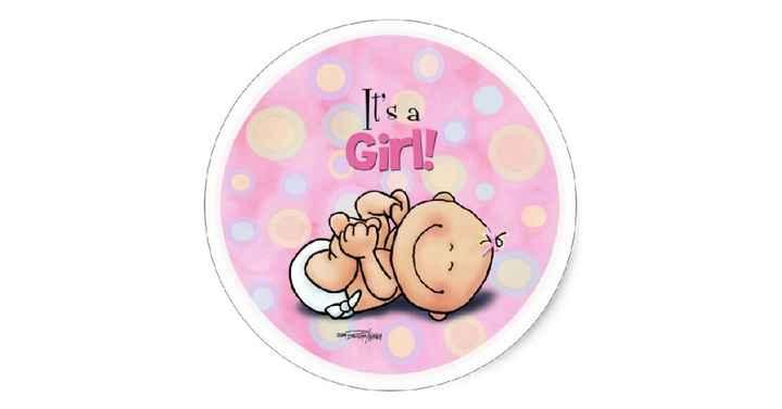 It's a girl - 1