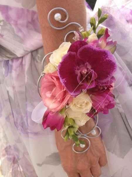 bouquet a bracciale