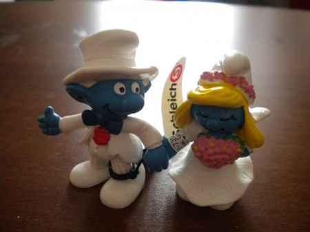 Puffi sposi