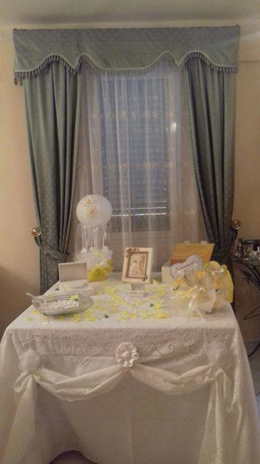 Il mio tavolo sposa a casa organizzazione - Tavolo matrimonio casa sposa ...