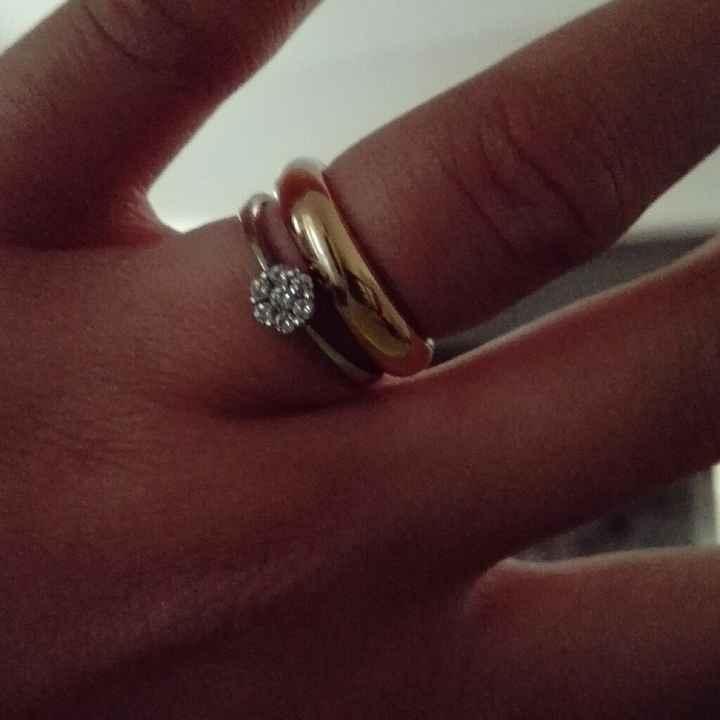 Il segno zodiacale delle tue nozze - anello di fidanzamento - 1
