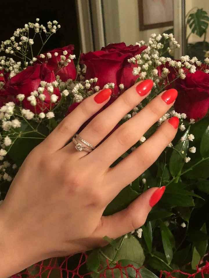 Anello di fidanzamento. - 1