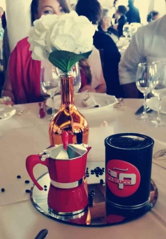 Mise en place decorata con caffè: sì o no? - 1