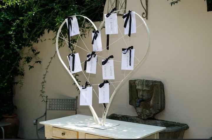 Tableau de mariage help - 1
