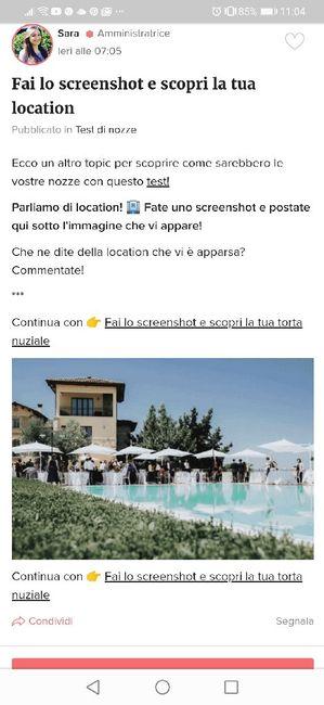 Fai lo screenshot e scopri la tua location 7