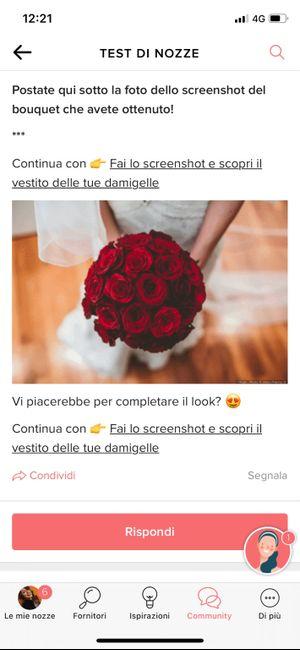 Fai lo screenshot e scopri il tuo bouquet 15