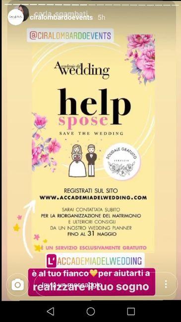 Iniziative gratuite wedding planner 1