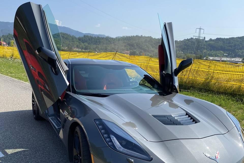 Corvette noleggio matrimonio