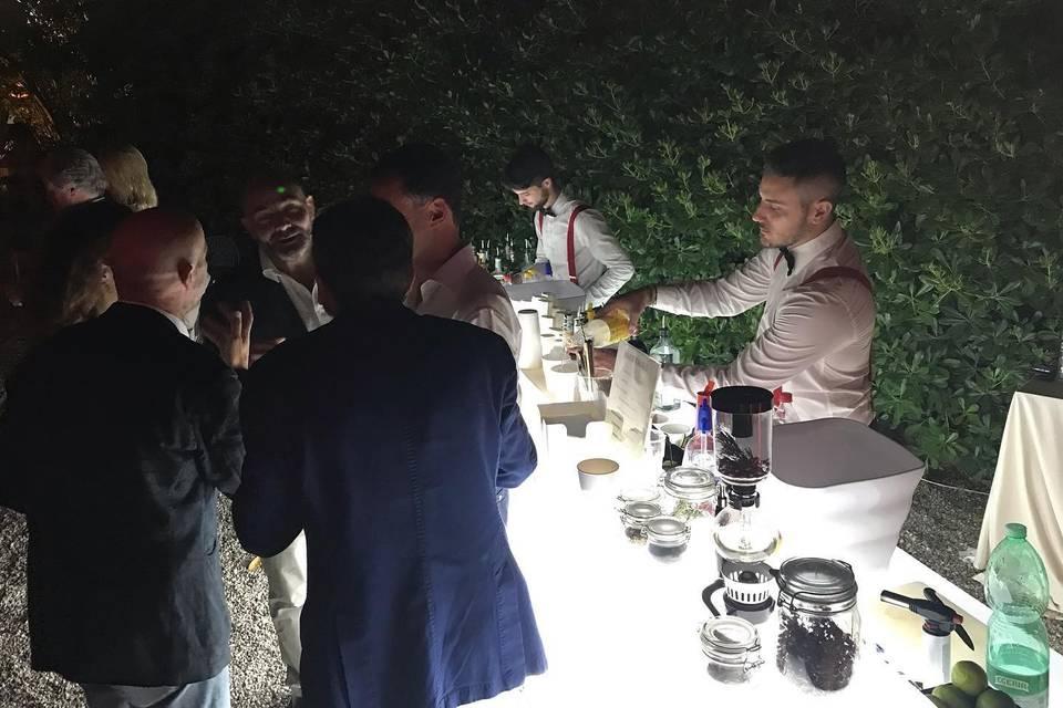 Servizio open bar