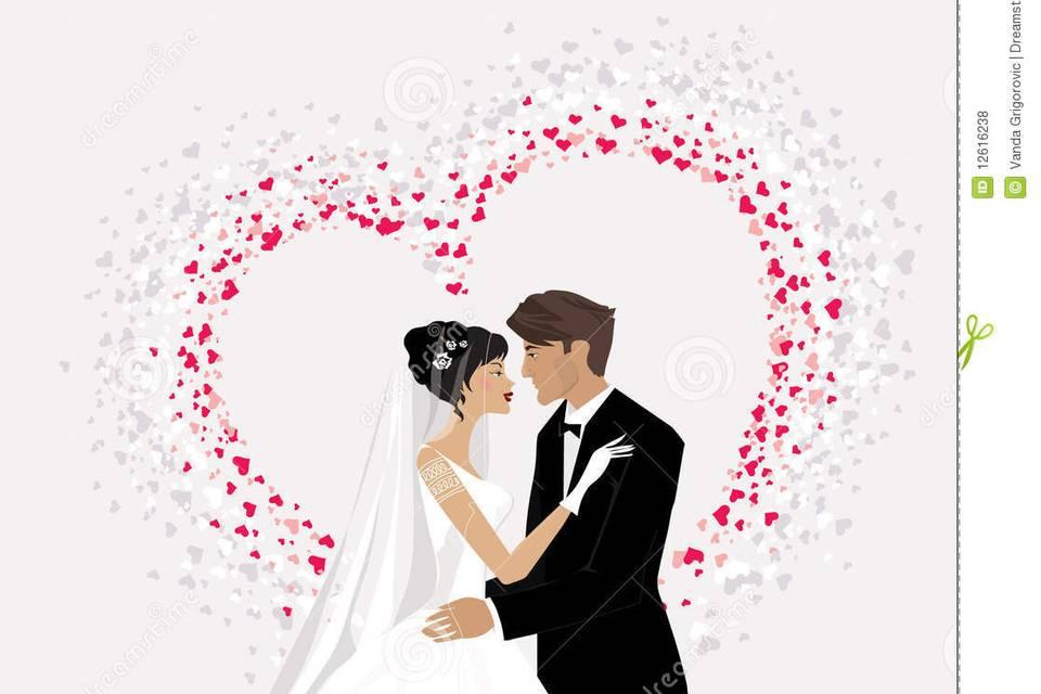 Sposi cuore