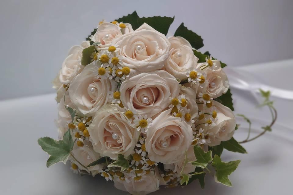 Bouquet avorio