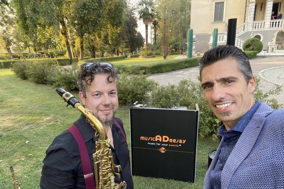 Ruben Sax e Davide Dj