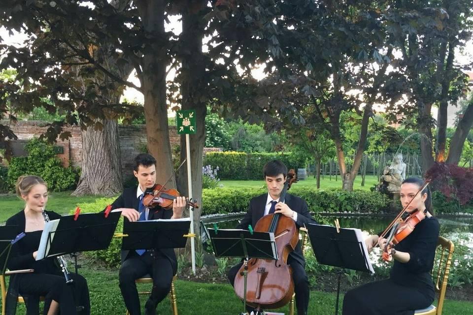 Trio d'archi e oboe