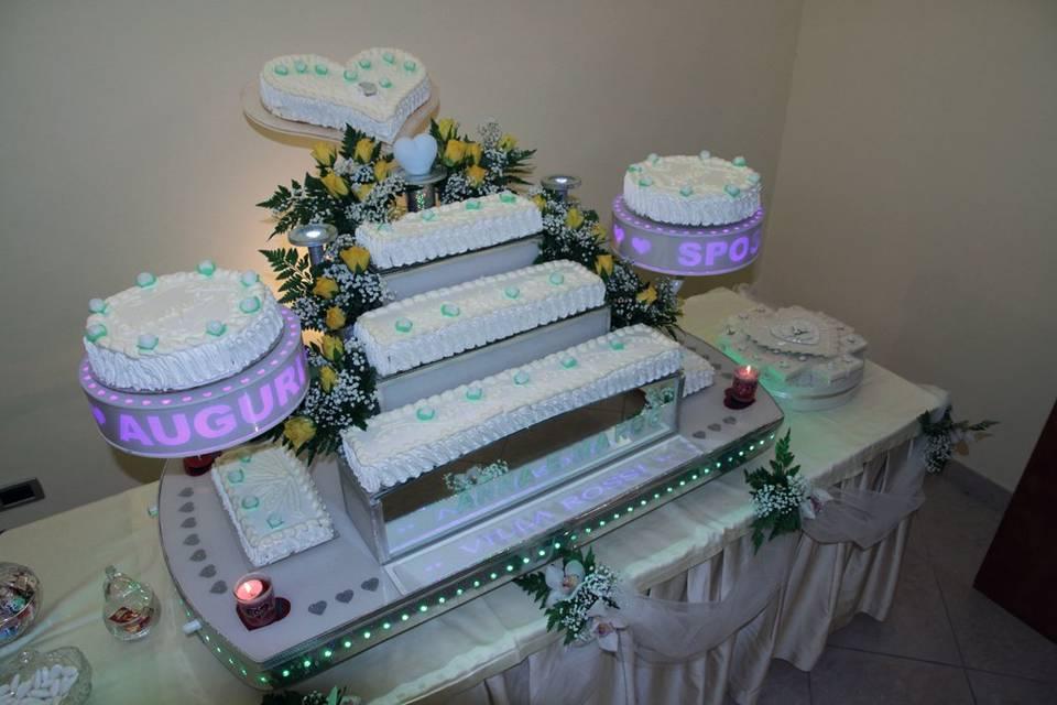 Porta torta Luminescente
