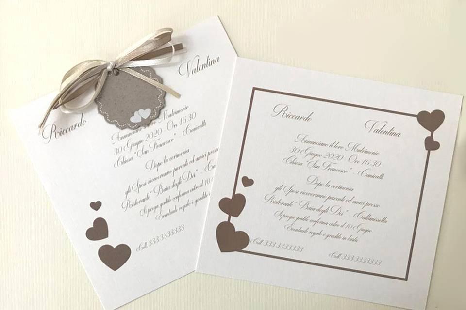 Linea Coordinati Wedding