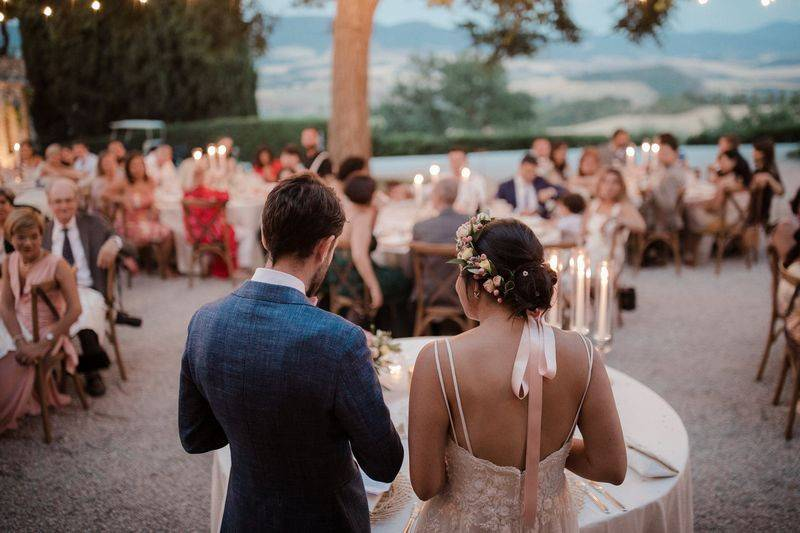 Real Country Chic Wedding