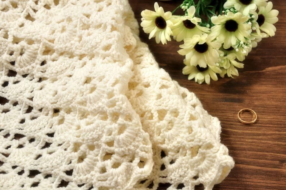 Sciarpa in lana merino