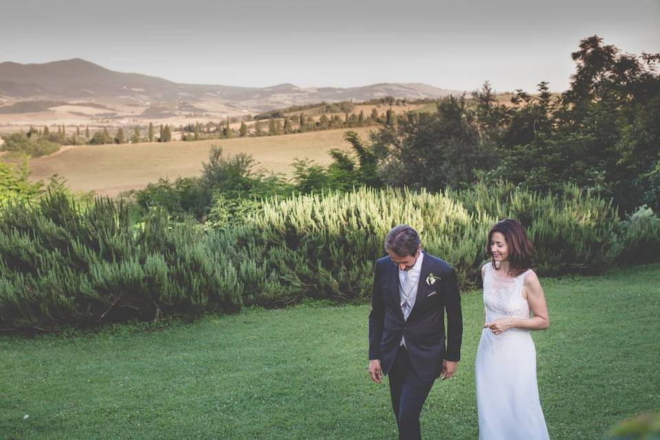 Wedding in Val d'Orcia