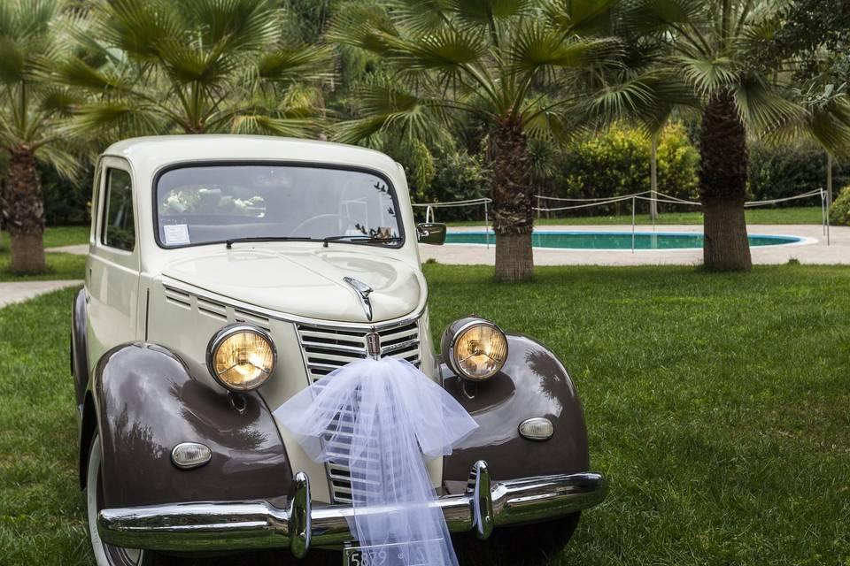 Auto d'epoca Fiat Musone per cerimonie