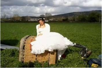 La sposa dopo il volo