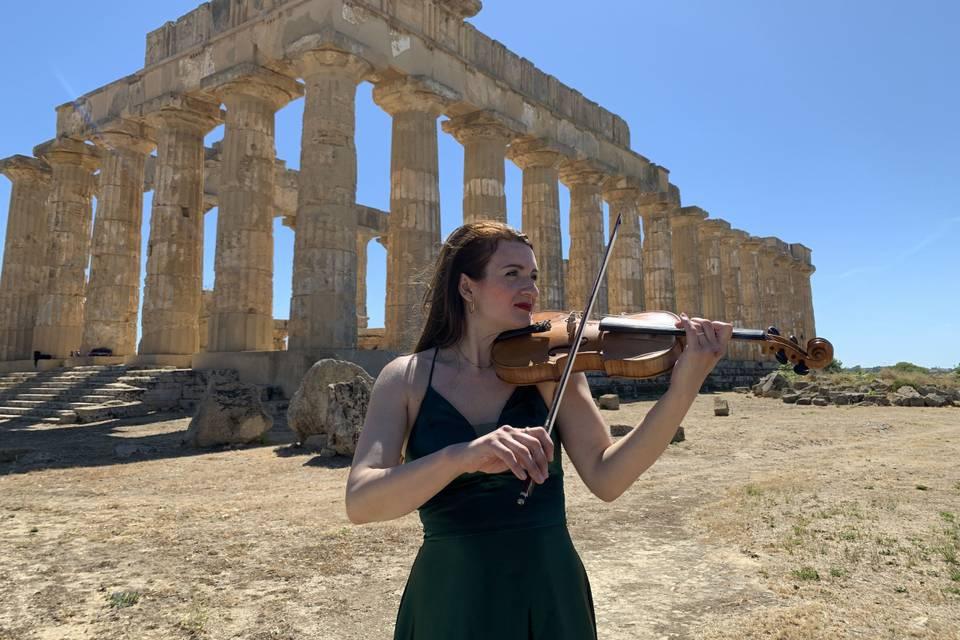 Violinista Giovanna Ferrara