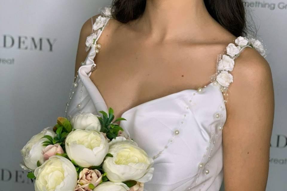Makeup e acconciatura sposa