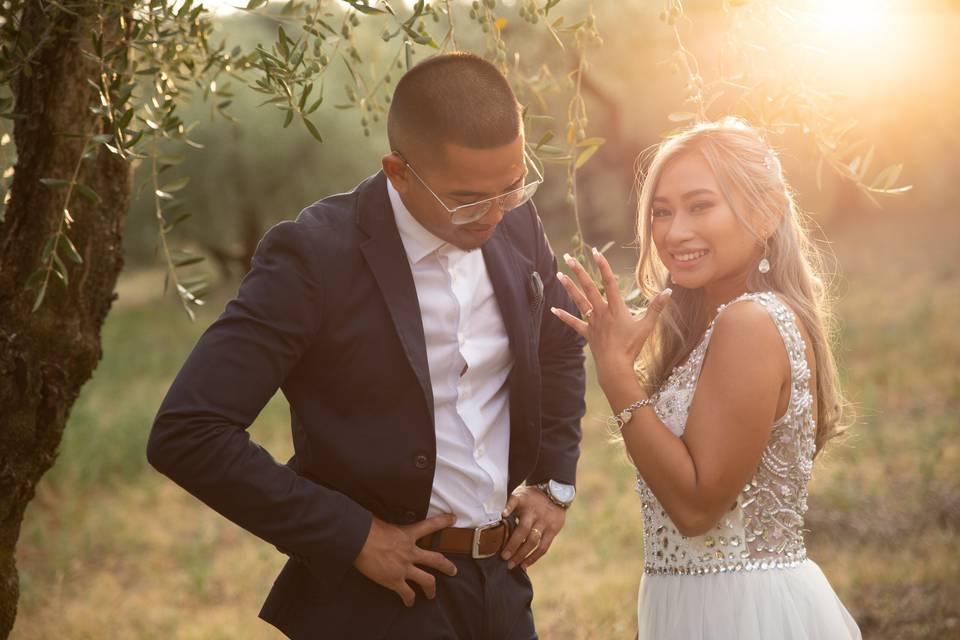 Bellissima giovane coppia