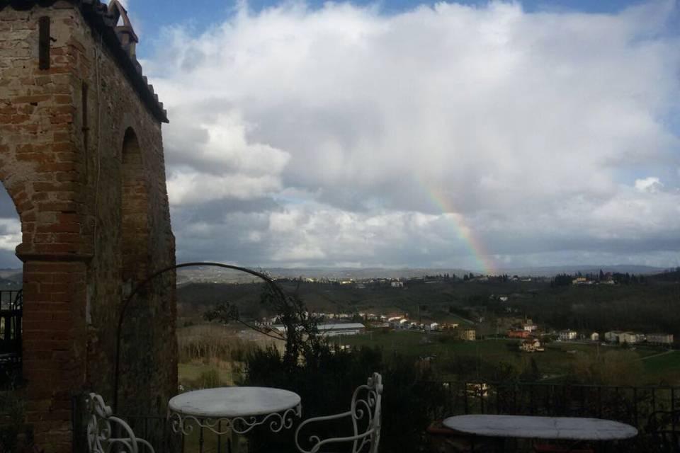 Veduta arcobaleno