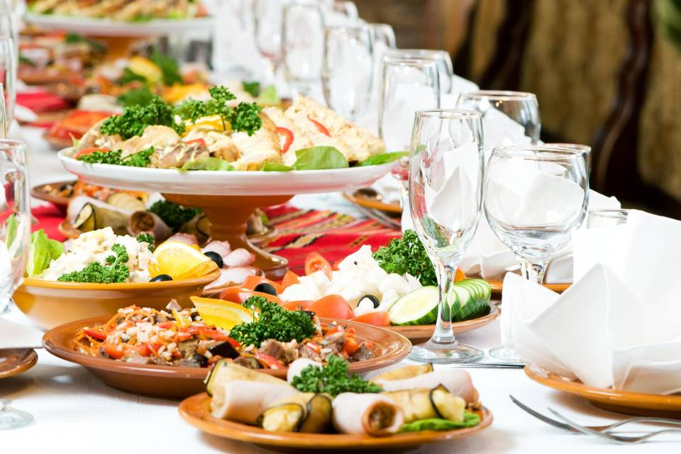 Rossomelograno Catering