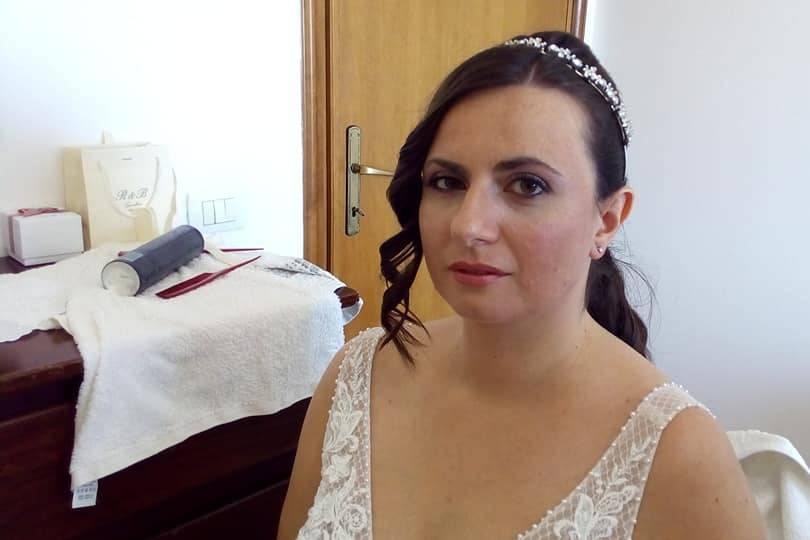 Make-up sposa+acconciatura
