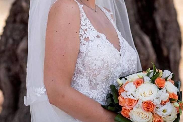 Make-up sposa con smokey eyes