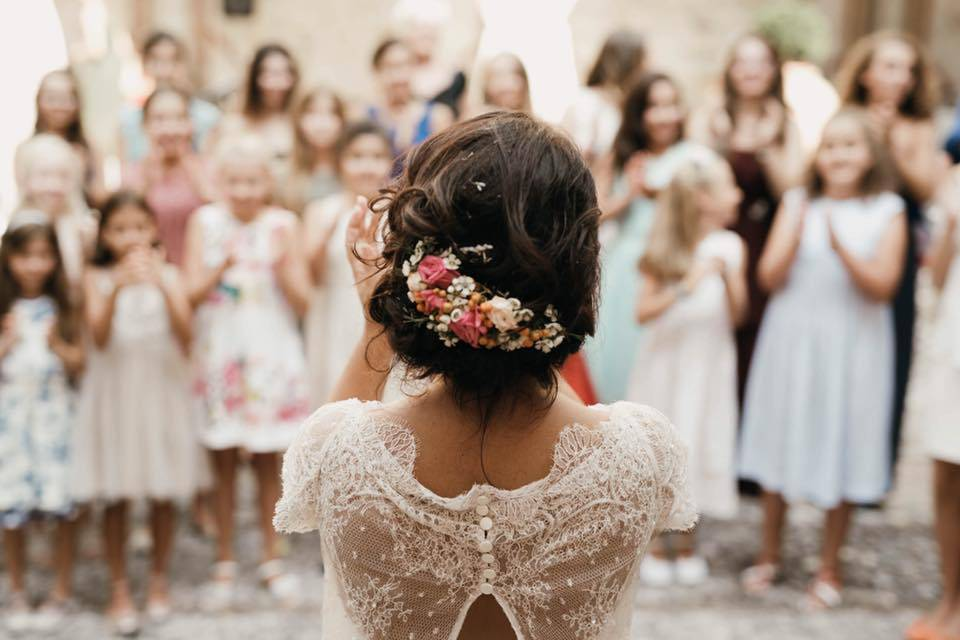 Gioconda Wedding Hair and Make-up