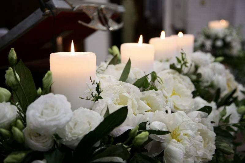 Fiori e candele pura magia