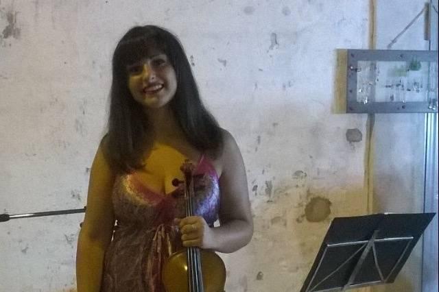 Delia La Gala - Violinista