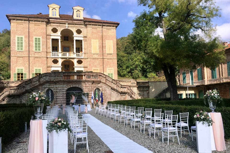 Cerimonia in location Torino