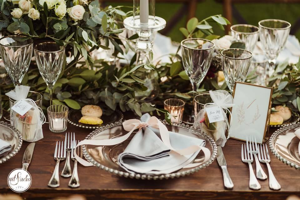 Set up tavolo