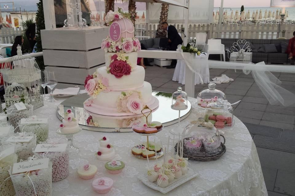 Dessert Table e confettata